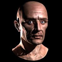 Head - male 01