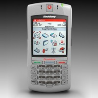 free vodafone blackberry 7100v 3d model