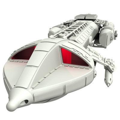 free space 1999 hawk 3d model