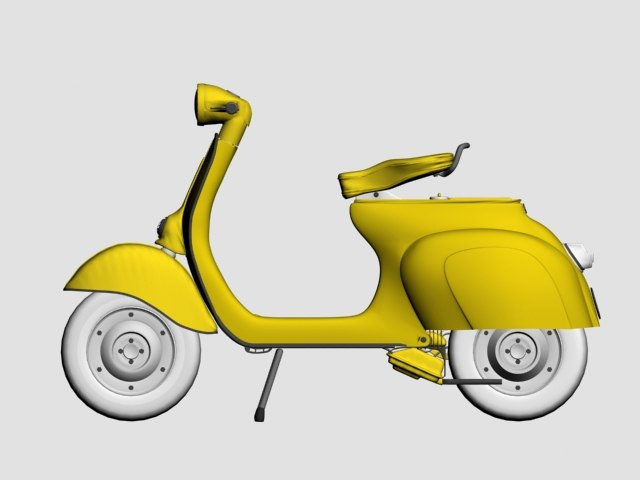 3ds max hi scooter