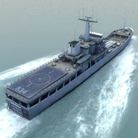yuting 072-ii ship 3d model