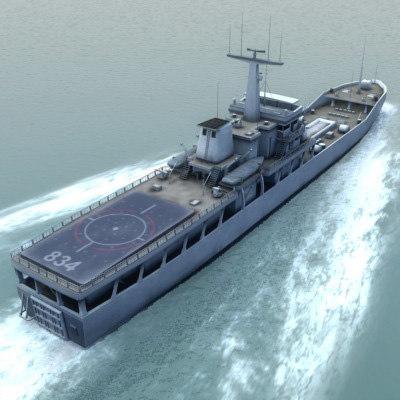 yuting 072-ii ship 3d model
