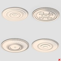 Ceiling medallion002_max.ZIP