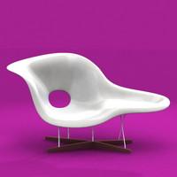la chaise 3d model