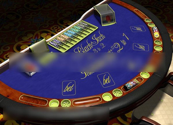 3ds max casino table