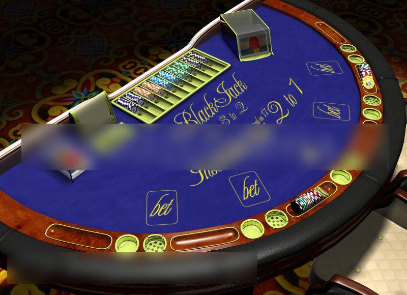 3ds max casino table