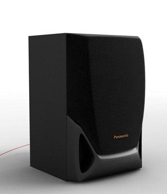 3d model speaker stereo