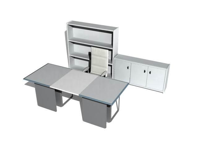desk 3d max