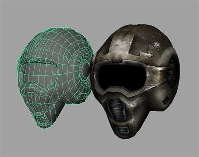 maya space helmet