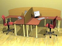 maya daily office furniture tables