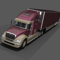 3d freightliner columbia model
