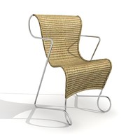 maya rattan chair