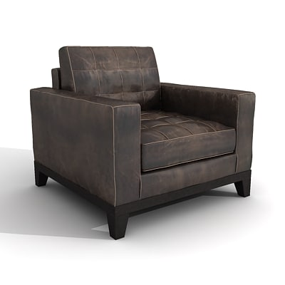 leather armchair max