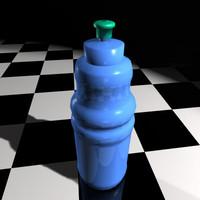 sports bottle 3d model