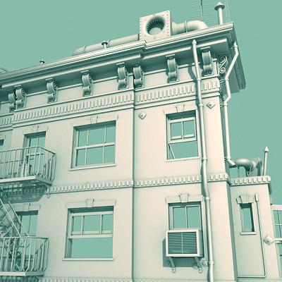 architectural 3d 3ds
