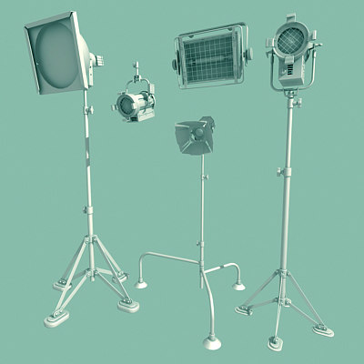 3ds max soundstage lighting backstage level