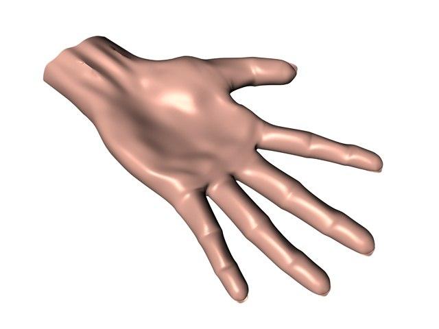 hand c4d free