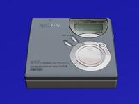 3d model sony md