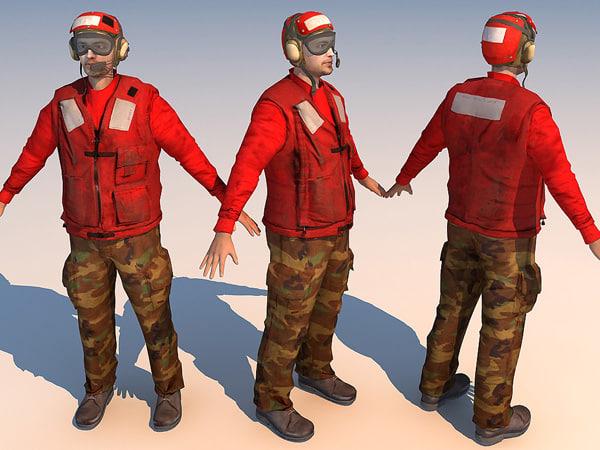 3d carrier deck crew