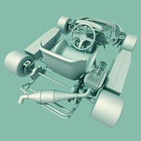 3d shifter kart model