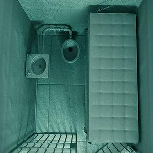 3d model prison jail cell