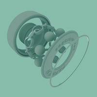 SkateWheel Bearing.3DS
