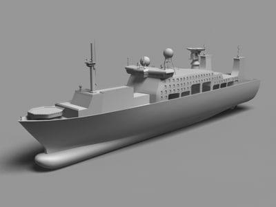 3d ship cruise