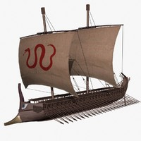 3ds max greek trireme