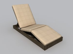 3ds patio lounge chair