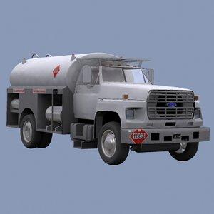 fuel truck 3d max
