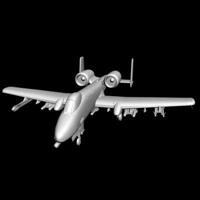3d model a-10