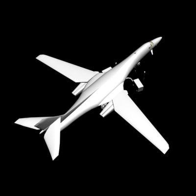 3ds max b1 lancer bomber