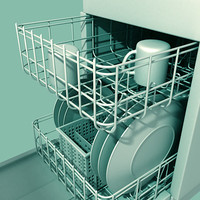 3d dish washer