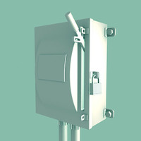 3d model electrical switch
