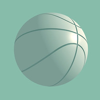 basketball sports 3d model