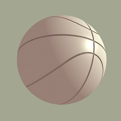basketball b ball 3d model
