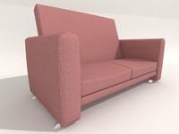 free armchair 3d model