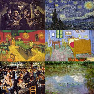 3d impressionist paintings model