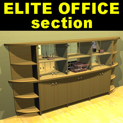 elite office furniture 3d max