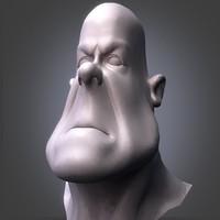 funny head 3d model