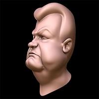norton head 3d max