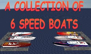 3ds max boats