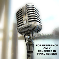 3ds max radio microphone mic