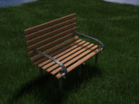 free max mode park bench