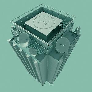 3d model new buildings