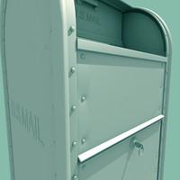 3d postal mailbox