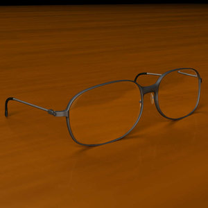 eye glass 3d model