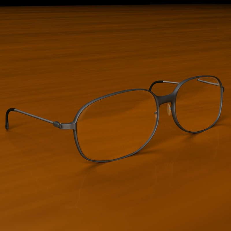 eye glass 3d model