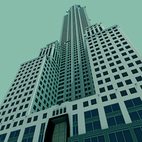art deco nyc chrysler building 3d model