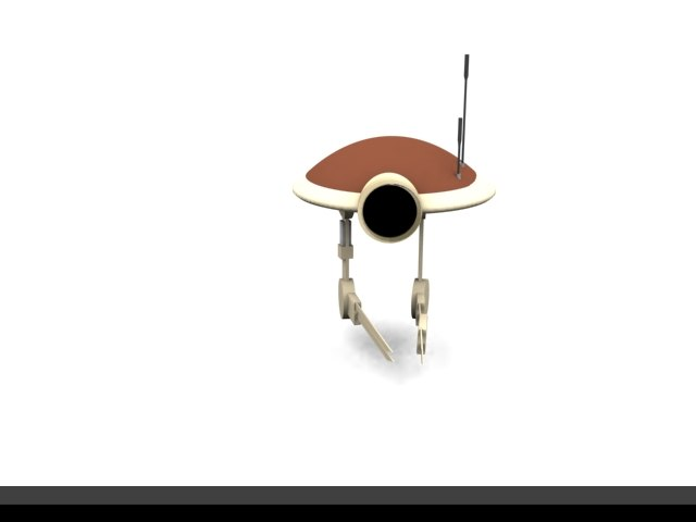 free 3ds model robot spaceship